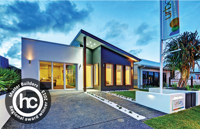 2013 MASTER BUILDERS INDUSTRY AWARDS WINNER - SUNSHINE COAST  BEST DISPLAY HOME UP TO $225,000