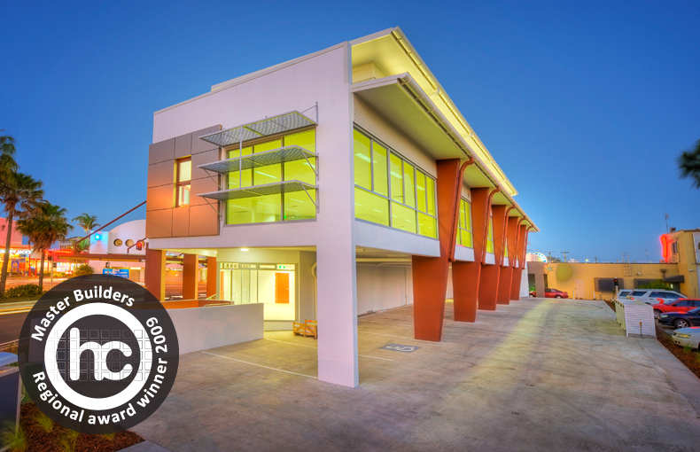 2009 MASTER BUILDERS INDUSTRY AWARDS WINNER - SUNSHINE COAST  BEST COMMERCIAL BUILDING UP TO $4 MILLION