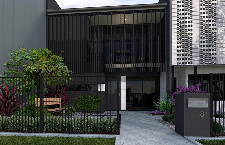 Aura Terrace Display Homes - The Monroe