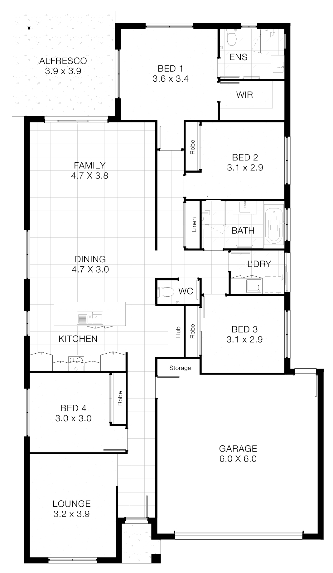 8 M Wide Home Designs Part - 42: Plans And Illustrations Are For Marketing Purposes - Dimensions And Colours  Are Provided As A Guide Only. Some Homes May Be Mirror Reversed Versions Of  This ...